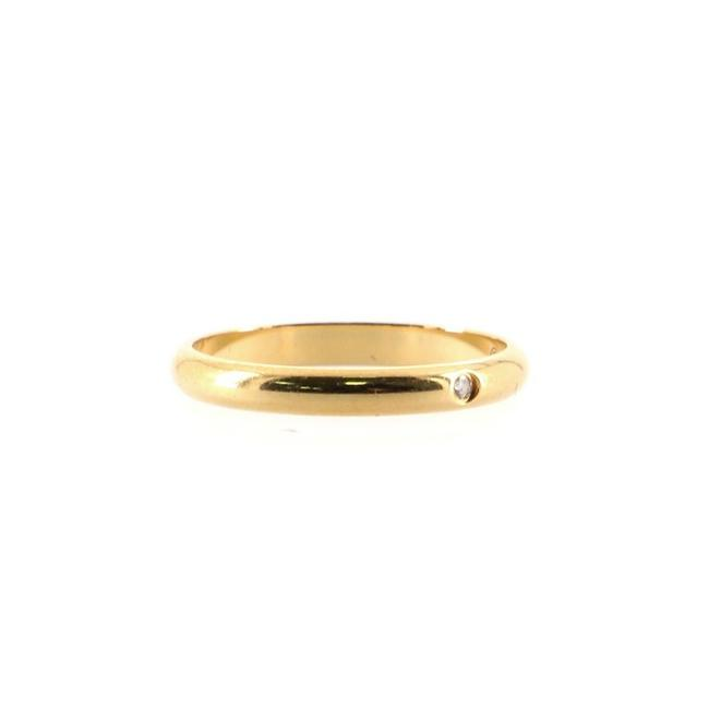 Item - 1895 Wedding Band 18k Yellow Gold with Diamond Small 6.75 - 54 Ring