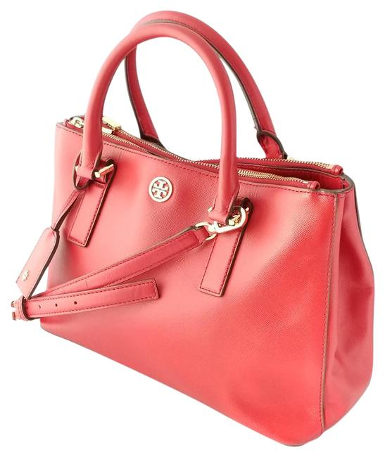 Item - Robinson Cherry Red Leather Tote