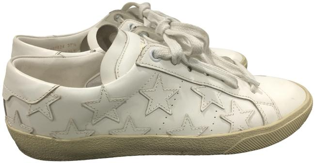 Item - White Court Classic Leather Sneakers Size US 7.5 Regular (M, B)