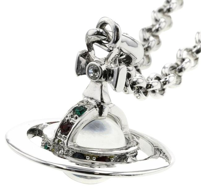 Item - Silver Vivienne Westwood Tiny Orb Plated Women's Necklace