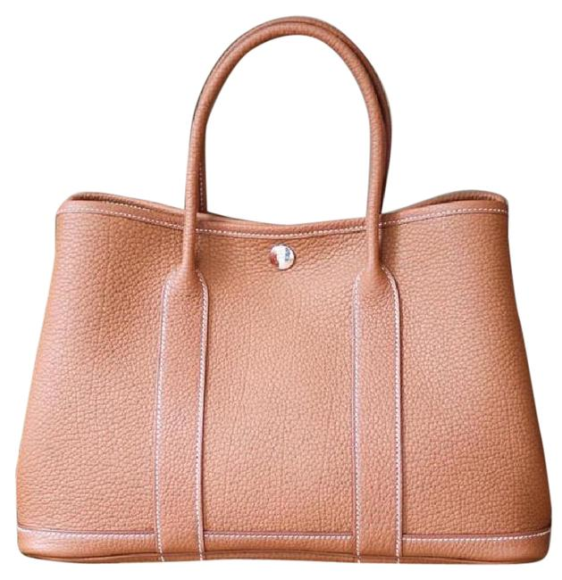 Item - Garden Party Gold Leather Tote