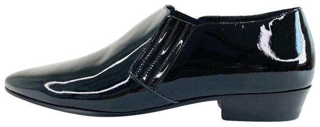 Item - Black Ysl Men's Connor Crop Patent Leather Chelsea Boot Formal Shoes Size EU 45 (Approx. US 15) Regular (M, B)