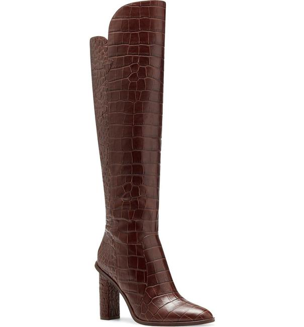 Item - Brown Palley Over The Knee Boots/Booties Size US 7 Regular (M, B)