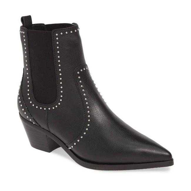 """Item - Silver """"Willa"""" Studded Leather Nwob Boots/Booties Size US 9 Regular (M, B)"""