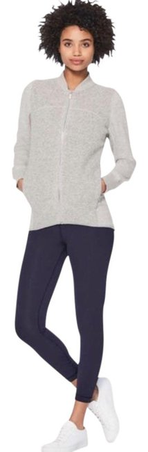 Item - Gray Silver Stand Out Sherpa Jacket Activewear Size 2 (XS)