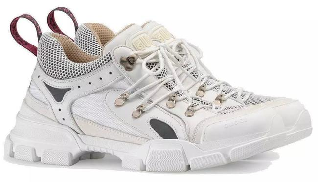 Gucci White New Men's Current Flashtrek Hiking Oversize Sole 5.5g/Us Sneakers Size US 6 Regular (M, B) Gucci White New Men's Current Flashtrek Hiking Oversize Sole 5.5g/Us Sneakers Size US 6 Regular (M, B) Image 4