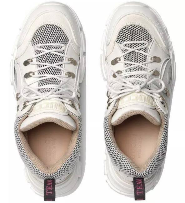 Gucci White New Men's Current Flashtrek Hiking Oversize Sole 5.5g/Us Sneakers Size US 6 Regular (M, B) Gucci White New Men's Current Flashtrek Hiking Oversize Sole 5.5g/Us Sneakers Size US 6 Regular (M, B) Image 5