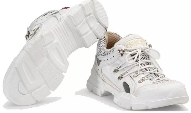Gucci White New Men's Current Flashtrek Hiking Oversize Sole 5.5g/Us Sneakers Size US 6 Regular (M, B) Gucci White New Men's Current Flashtrek Hiking Oversize Sole 5.5g/Us Sneakers Size US 6 Regular (M, B) Image 7