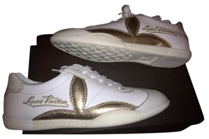 Louis Vuitton White, Cream & Gold Athletic