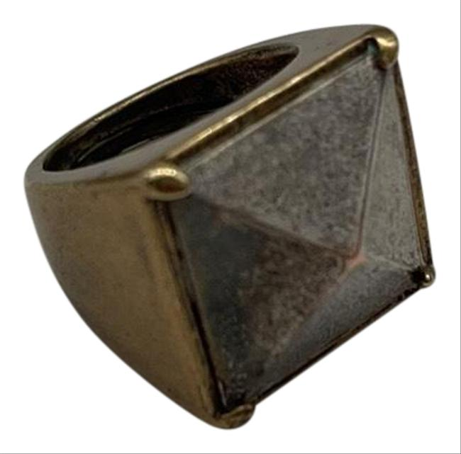 Item - Silver and Brass Ring