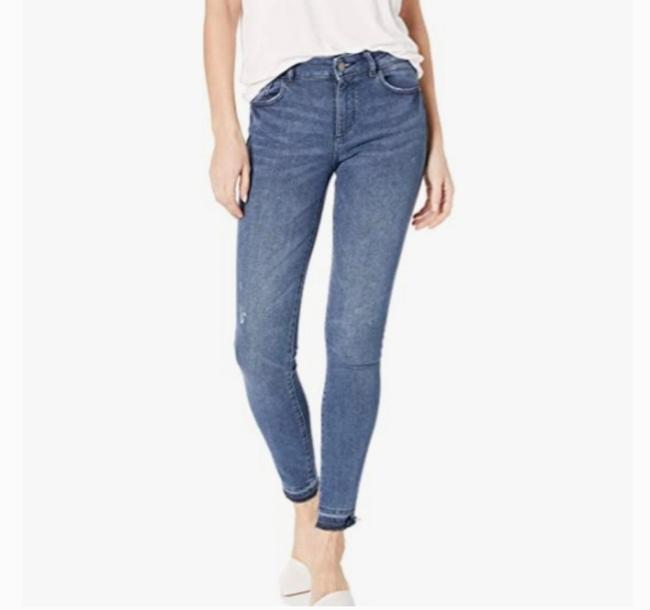 Item - Blue Dark Rinse Florence Mid-rise Skinny Jeans Size 2 (XS, 26)