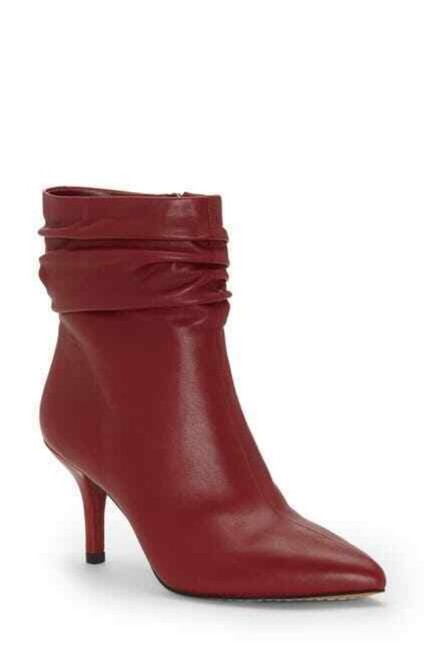 Item - Red Abrianna Soft Pointed Toe Ankle Boots/Booties Size US 7 Regular (M, B)