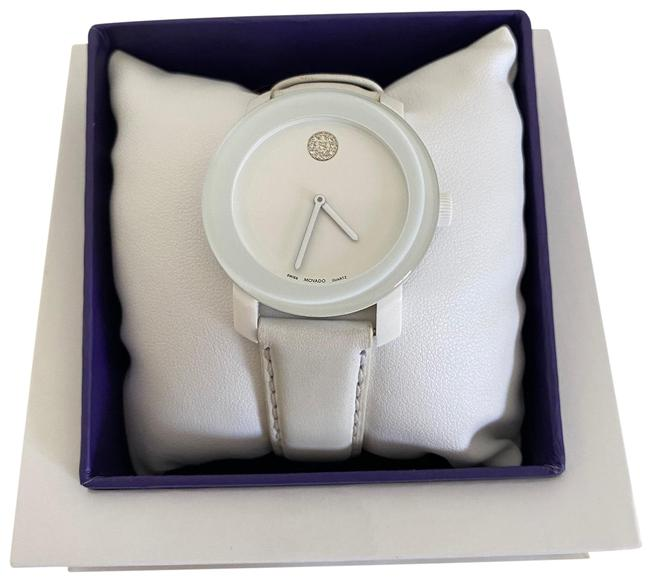Item - White and Purple Bold Watch