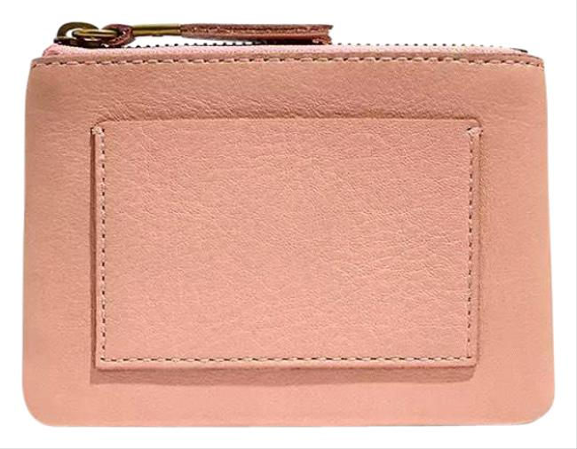 Item - Pink The Leather Pocket Pouch Wallet