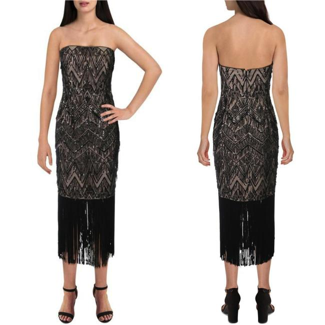 Item - Strapless Mid-length Cocktail Dress Size 6 (S)
