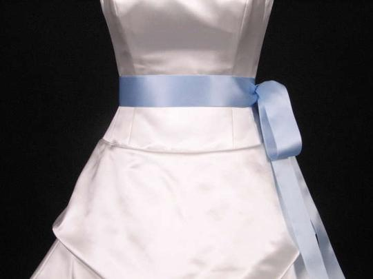 Light Blue Ribbon Sash