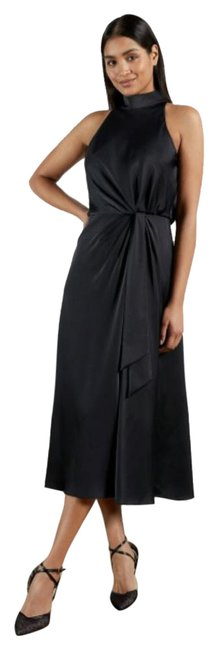 Item - Navy Lelly Mid-length Cocktail Dress Size 2 (XS)