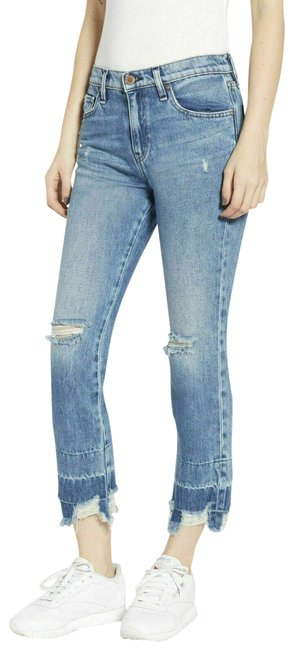 Item - Blue New Relaxed Cropped Boyfriend Cut Jeans Size 30 (6, M)