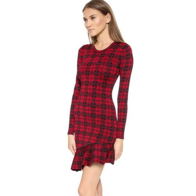 Item - Red Abir Short Night Out Dress Size 2 (XS)