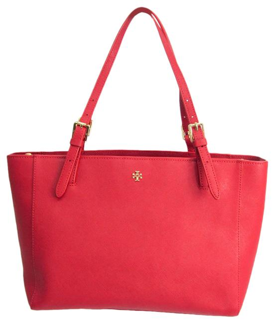 Item - Bag York Small Buckle 31149802 Women's Red Color Leather Tote