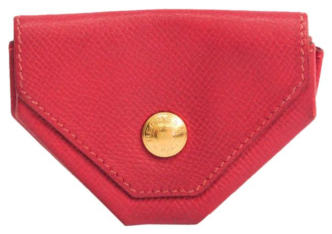 Item - Red Color 24 Women's Leather Coin Purse/Coin Case Wallet