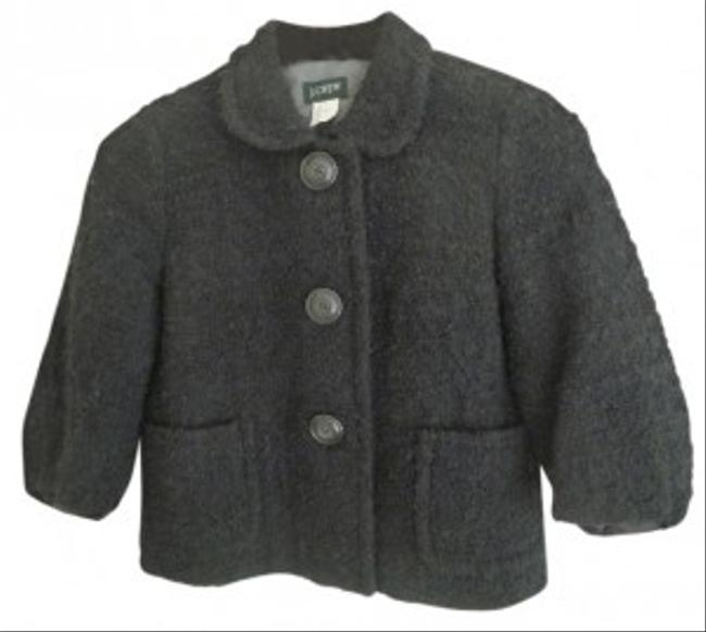 Preload https://item1.tradesy.com/images/jcrew-black-boucle-tweed-mandy-style-89263-spring-jacket-size-0-xs-29205-0-0.jpg?width=400&height=650