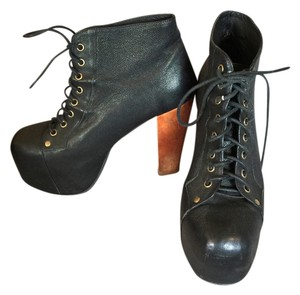 Jeffrey Campbell Lita Leather 9 Black Boots