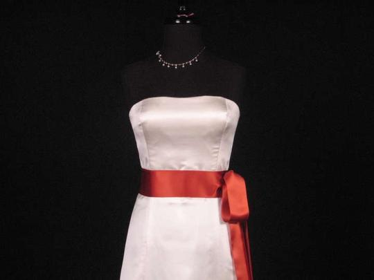 Ginger Orange Ribbon Sash