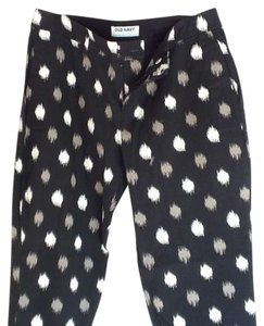 Old Navy Capris black/white/grey