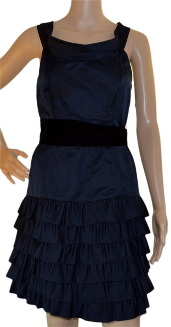 Preload https://item4.tradesy.com/images/thread-black-above-knee-cocktail-dress-size-2-xs-2920633-0-0.jpg?width=400&height=650