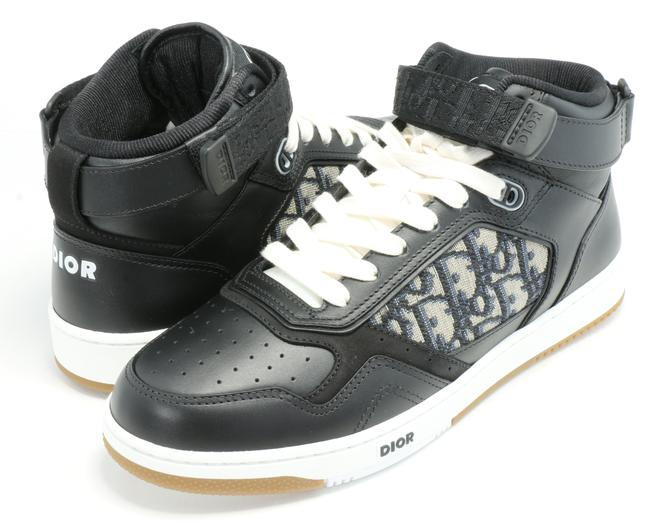 Item - Blue B27 Mid-top Sneakers Shoes