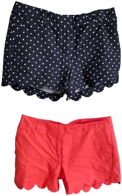 Item - Multicolor Two Of The Linen Shorts Size 0 (XS, 25)