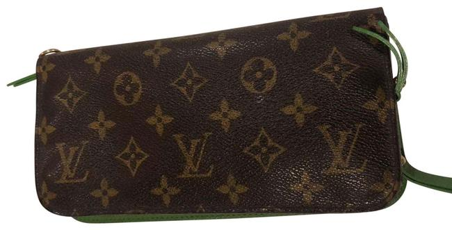 Item - Monogram with Green Insolite Wallet