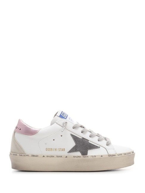 Item - White Hi Star Lace-up Sneakers Size EU 39 (Approx. US 9) Regular (M, B)