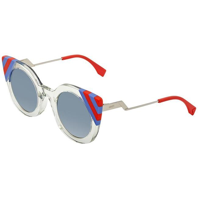 Item - Green & Red & Blue. Waves Cat-eye with Uv Protection Ff0240/S Sunglasses