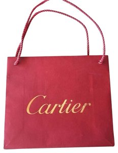 Cartier Paper Designer Tote in Red