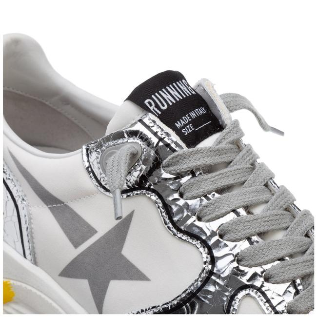 Golden Goose Deluxe Brand White/Silver Running Sole Sneakers Size EU 38 (Approx. US 8) Regular (M, B) Golden Goose Deluxe Brand White/Silver Running Sole Sneakers Size EU 38 (Approx. US 8) Regular (M, B) Image 6