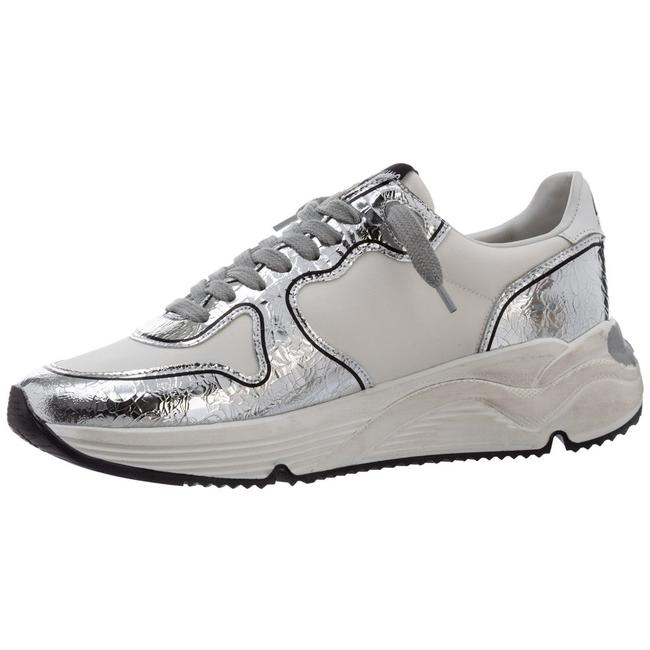 Golden Goose Deluxe Brand White/Silver Running Sole Sneakers Size EU 38 (Approx. US 8) Regular (M, B) Golden Goose Deluxe Brand White/Silver Running Sole Sneakers Size EU 38 (Approx. US 8) Regular (M, B) Image 7