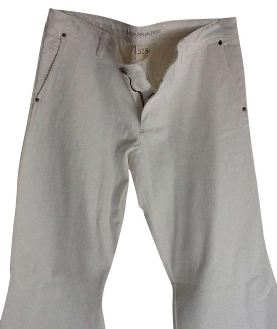 Preload https://item4.tradesy.com/images/banana-republic-white-light-wash-trouserwide-leg-jeans-size-32-8-m-292083-0-0.jpg?width=400&height=650