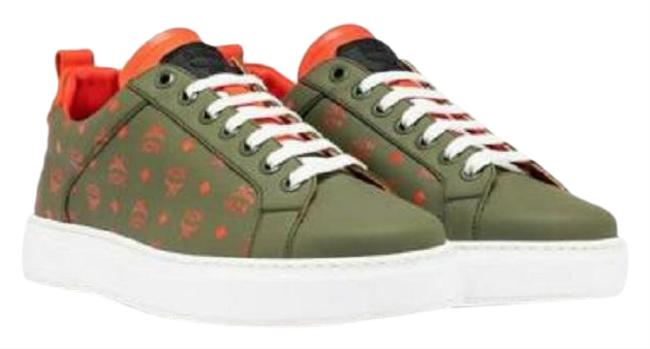 Item - Green Monogram Leather Low-top 38/Us Mes9amm60g8 Sneakers Size US 8 Regular (M, B)