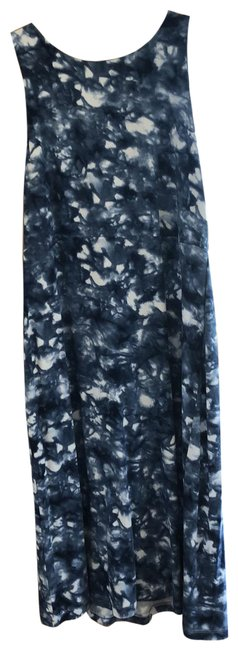 Item - Blue and White Rn54023 Short Casual Dress Size 2 (XS)