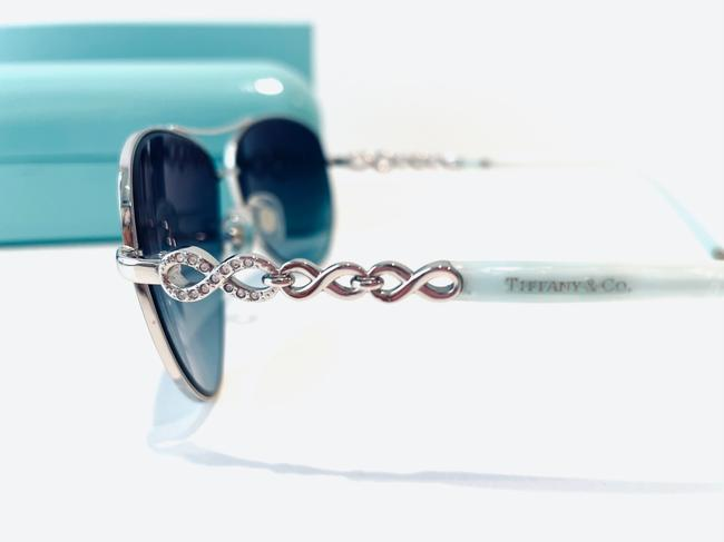 Tiffany & Co. Blue and Silver Infinity Collection Sunglasses Tiffany & Co. Blue and Silver Infinity Collection Sunglasses Image 2