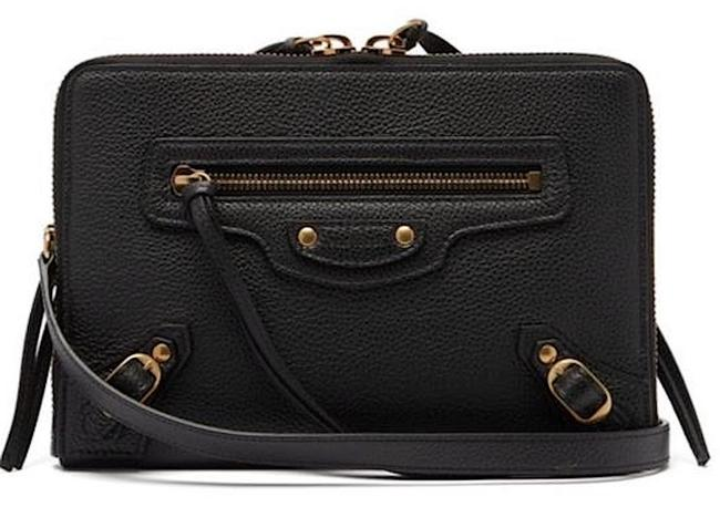 Item - Neo Classic Small Grained-leather Cross-body Black Leather Shoulder Bag