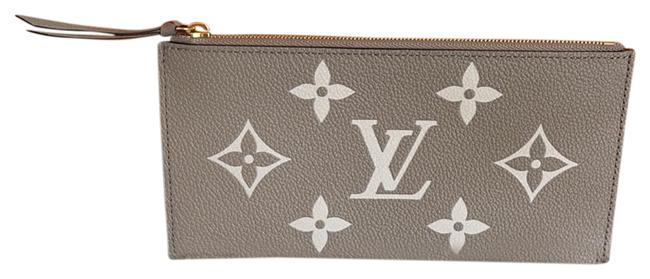 Item - Tourterelle Grey Dove Creme Felicie Inserts ( Credit Cards and Zippy) Wallet