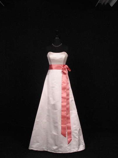 Tea Rose Pink Ribbon Sash