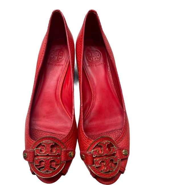 Item - Red Candy Sally 2 Leather Wedge Pumps Size US 8 Regular (M, B)