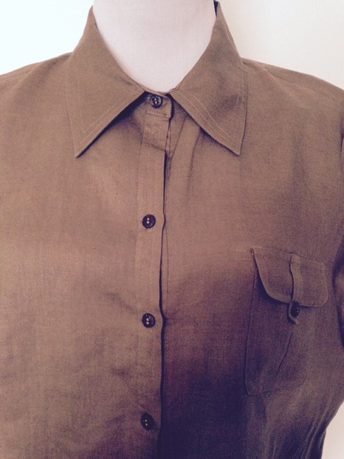 Allison Taylor Top Light Brown