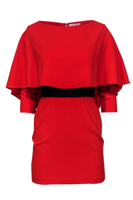 Item - Red Short Casual Dress Size 2 (XS)