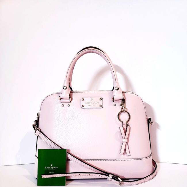 Item - Genuine Dome Baby Pink Leather Satchel