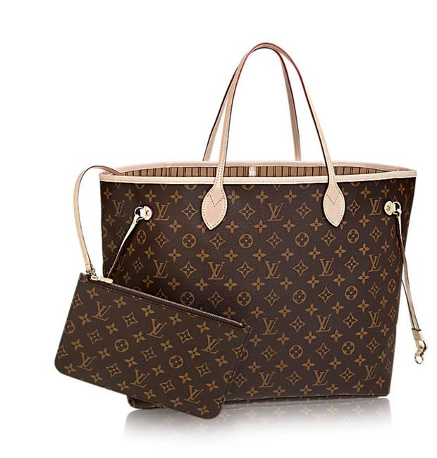 Item - Neverfull New Gm Monogram with Beige Interior Canvas Leather Tote